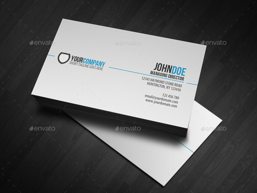 Simple professional business card by glenngoh graphicriver corporate business cards 01simplecorporatebcblue1g cheaphphosting Images