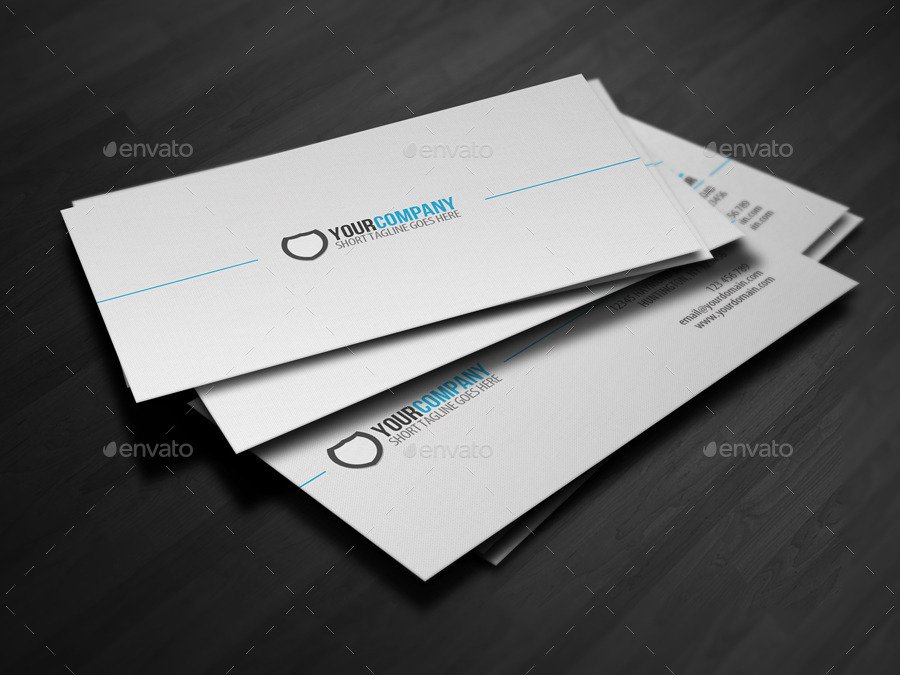 Simple professional business card by glenngoh graphicriver simple professional business card colourmoves Image collections