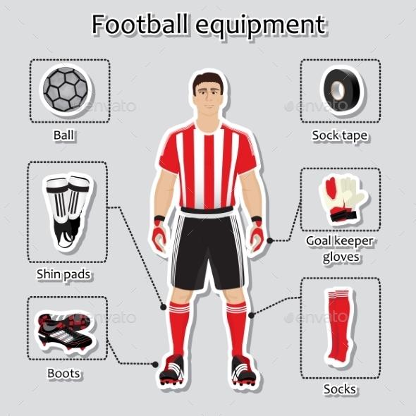 Soccer Player Uniform - Sports/Activity Conceptual