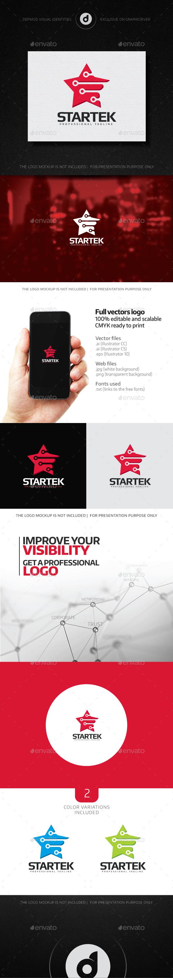 Startek Logo - Objects Logo Templates