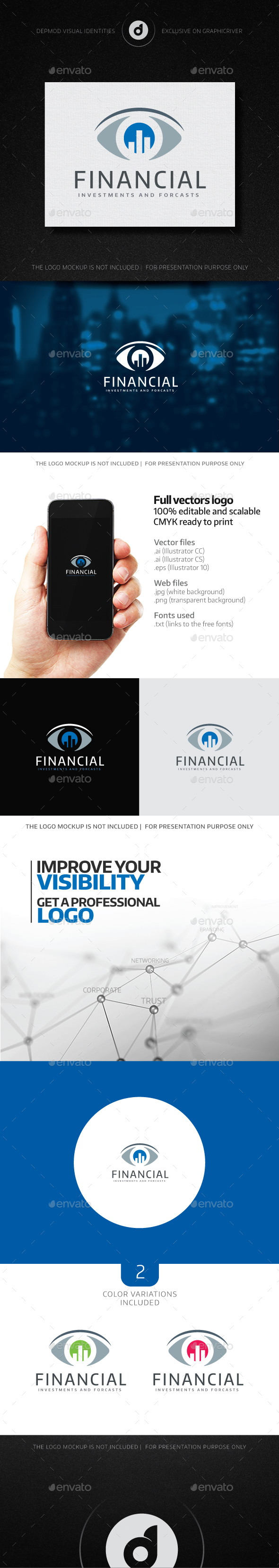 Financial Logo - Symbols Logo Templates