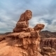 Charyn Grand Canyon At Cloudy Sky In Kazakhstan - VideoHive Item for Sale