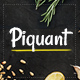 Piquant - A Restaurant, Bar and Café Theme - ThemeForest Item for Sale
