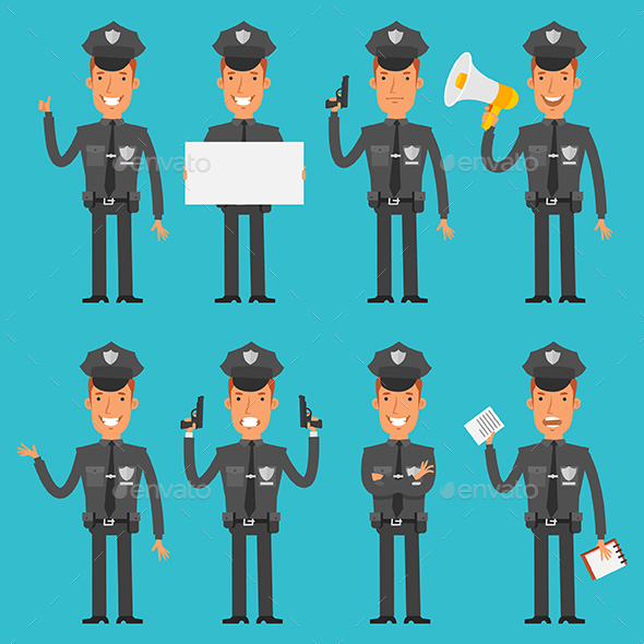 Policeman - People Characters