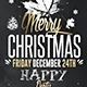 Christmas 2016 | Psd Flyer Template - GraphicRiver Item for Sale