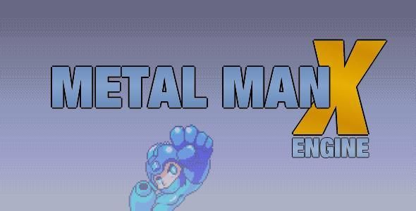 Super Metal Man X Engine - CodeCanyon Item for Sale