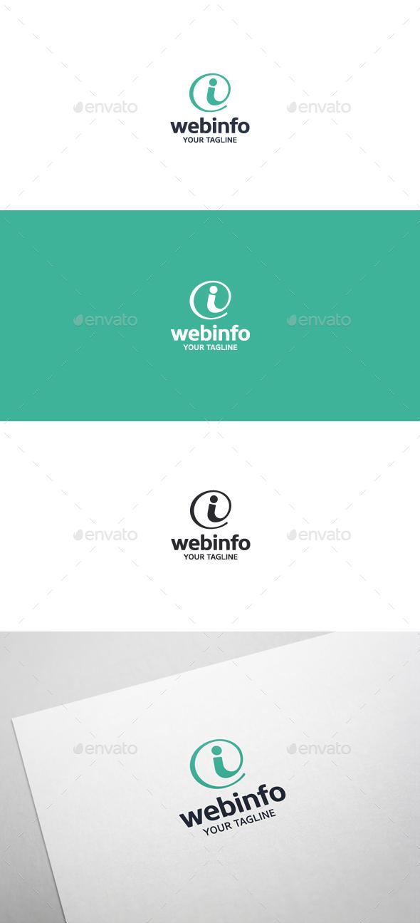 Web Info Logo - Symbols Logo Templates