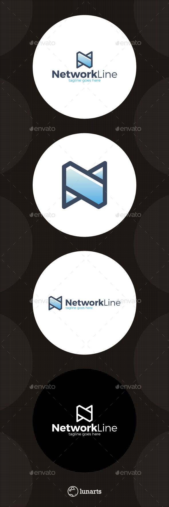 Network Logo - Letter N - Letters Logo Templates
