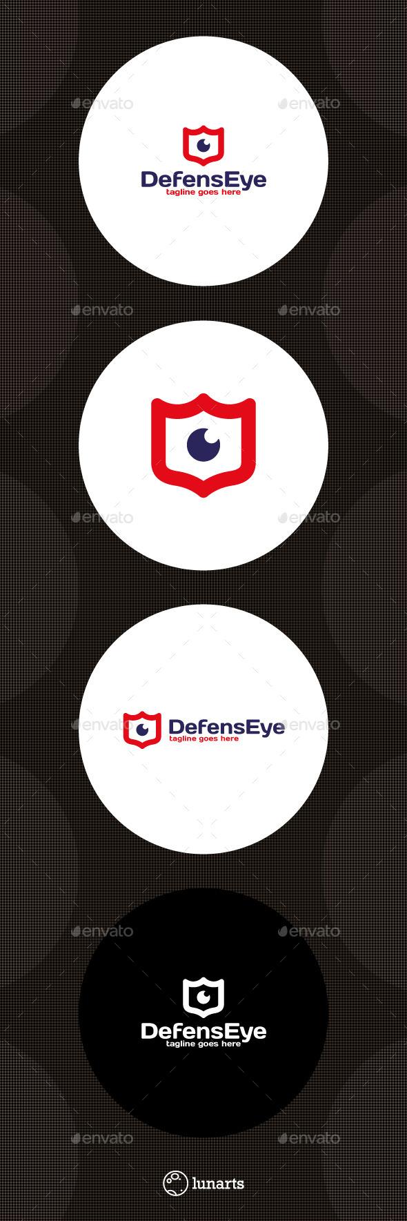 Eye Shield Logo - Symbols Logo Templates