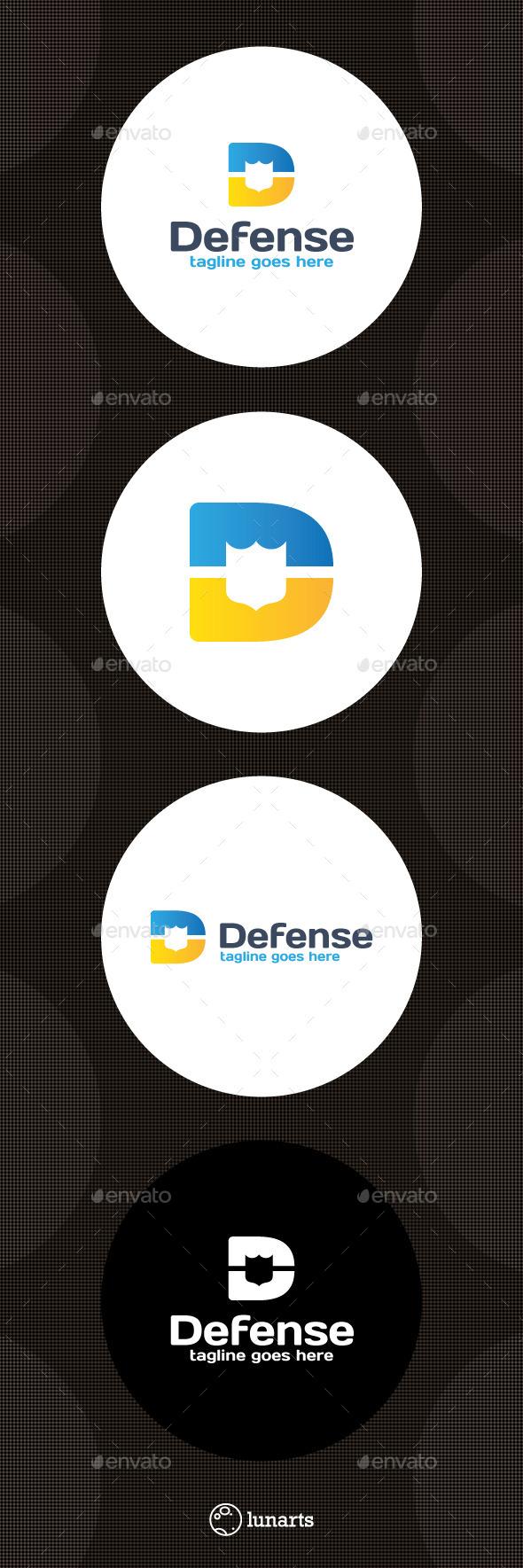 Defense Logo - Letter D - Letters Logo Templates