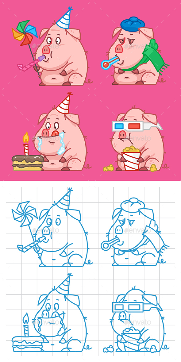 Pig Part 1 - Animals Characters