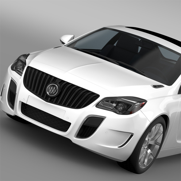 Buick Regal GS 2015 - 3DOcean Item for Sale