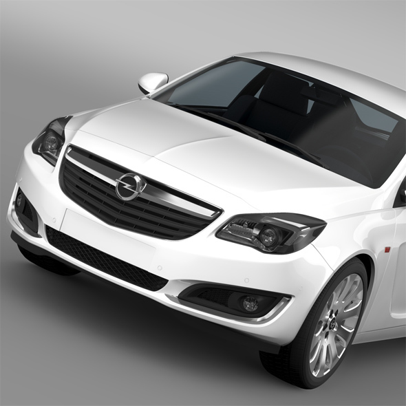 Opel Insignia 2015 - 3DOcean Item for Sale