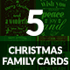 Christmas Card - Family - GraphicRiver Item for Sale