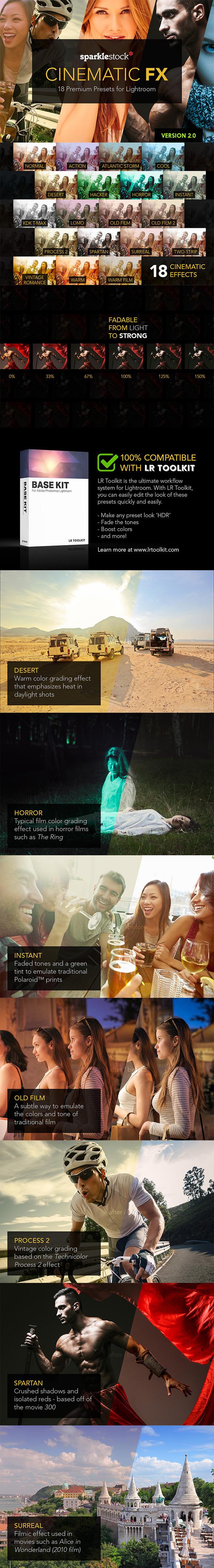 Cinematic FX for Lightroom - Cinematic Lightroom Presets