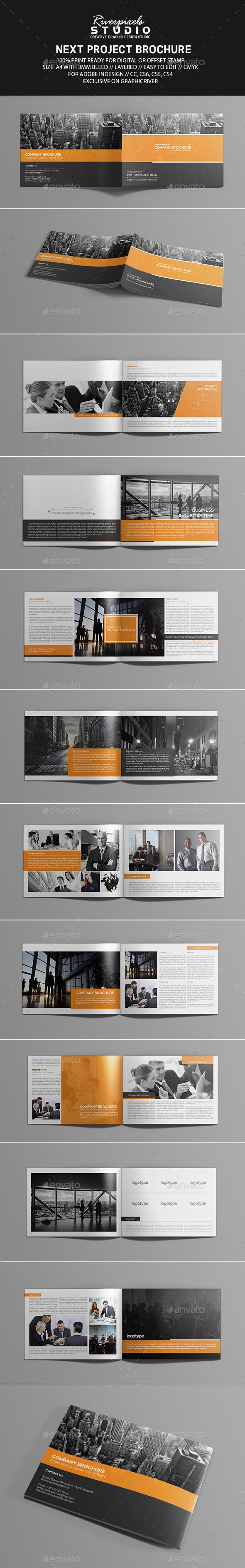 Next Project Brochure Template - Corporate Brochures