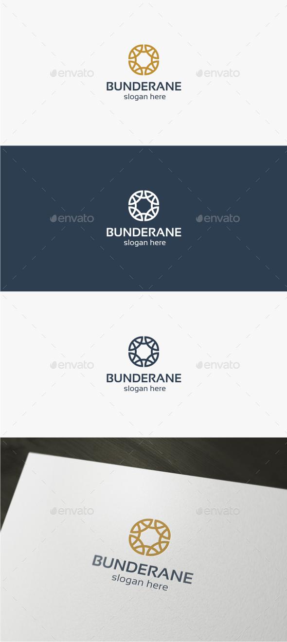 Bunderane  - Logo Template - Abstract Logo Templates