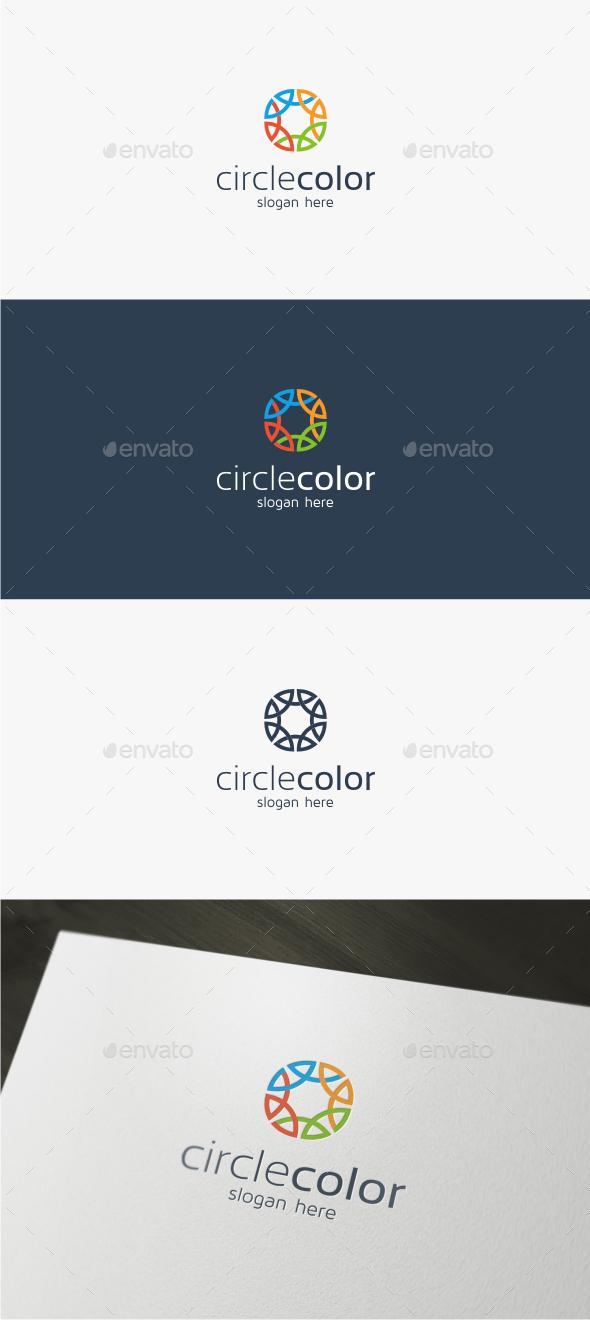 Circle Color - Logo Template - Abstract Logo Templates
