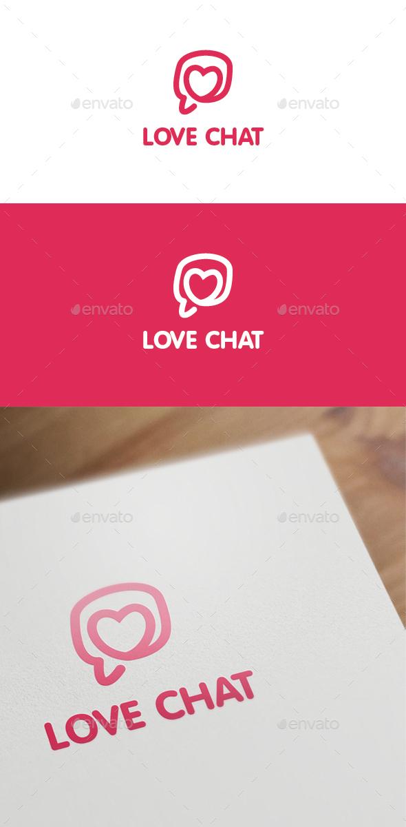 Love Chat - Symbols Logo Templates