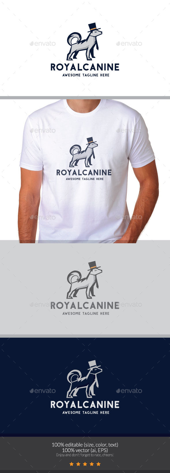 Royal Canine Logo - Animals Logo Templates