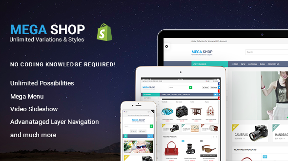 Megashop Responsive Shopify Theme