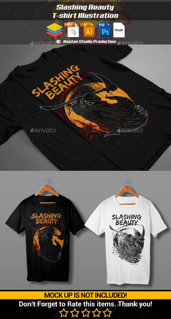 Slashing Beauty - Designs T-Shirts