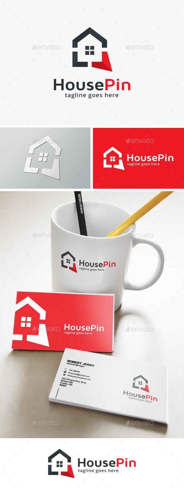 House Point Logo - Buildings Logo Templates