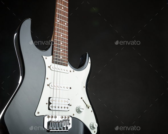 Electric guitar - Stock Photo - Images