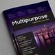 Multipurpose Magazine InDesign Template - GraphicRiver Item for Sale