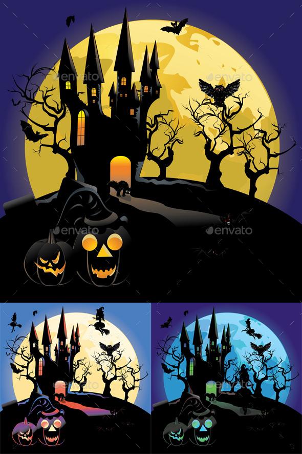 Haunted Halloween Castle - Halloween Seasons/Holidays