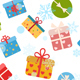 Christmas Background With Gift Boxes - GraphicRiver Item for Sale
