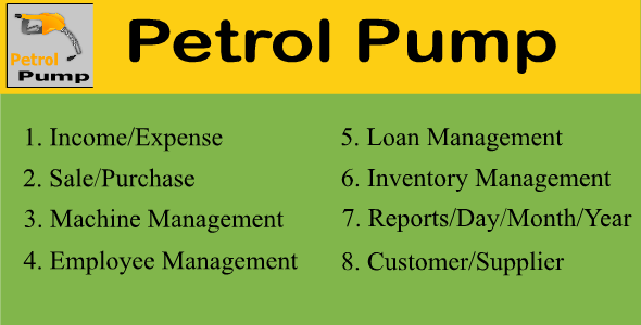 Petrol Pump - CodeCanyon Item for Sale