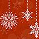 Christmas Card Backgrounds - Snowflakes - GraphicRiver Item for Sale