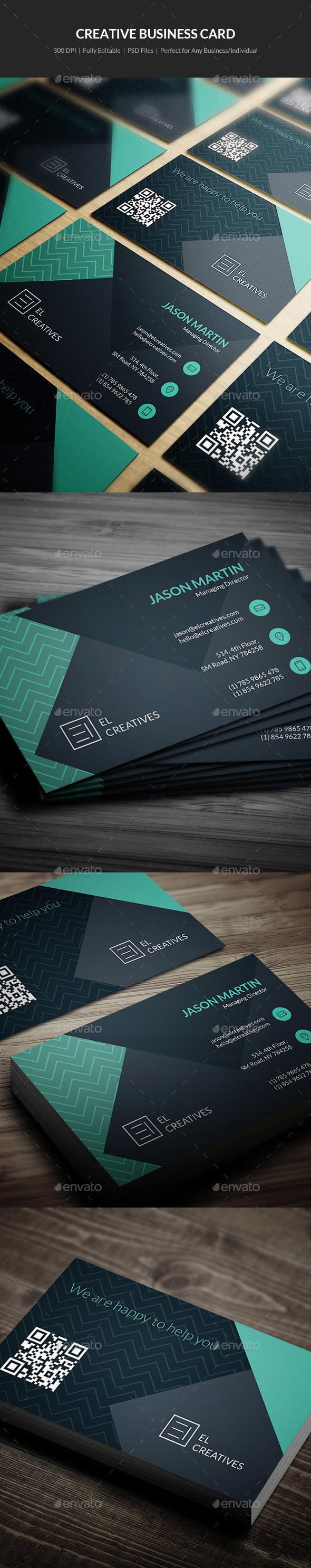 Creative Business Card - 12 - Creative Business Cards