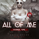 All Of Me - PSD Flyer - GraphicRiver Item for Sale