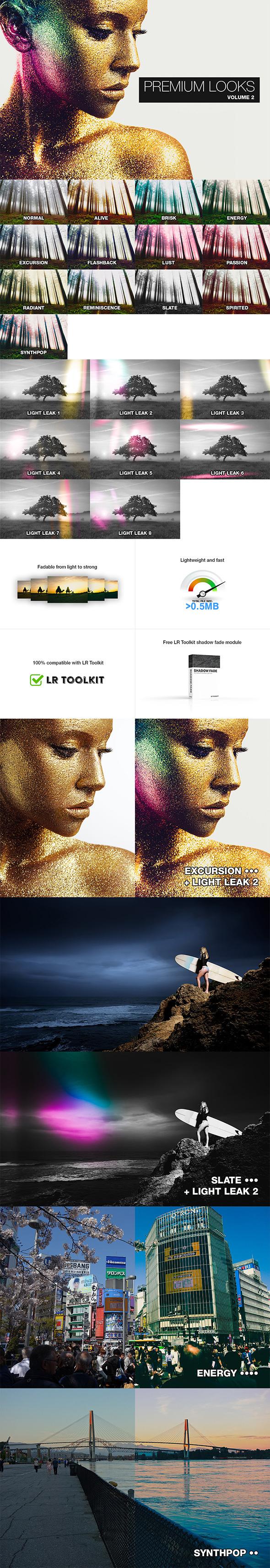 20 Premium Lightroom Presets (Vol 2) - Film Lightroom Presets