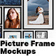 9 Picture Frame Mockups - GraphicRiver Item for Sale