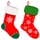 Set Of Christmas Socks - GraphicRiver Item for Sale