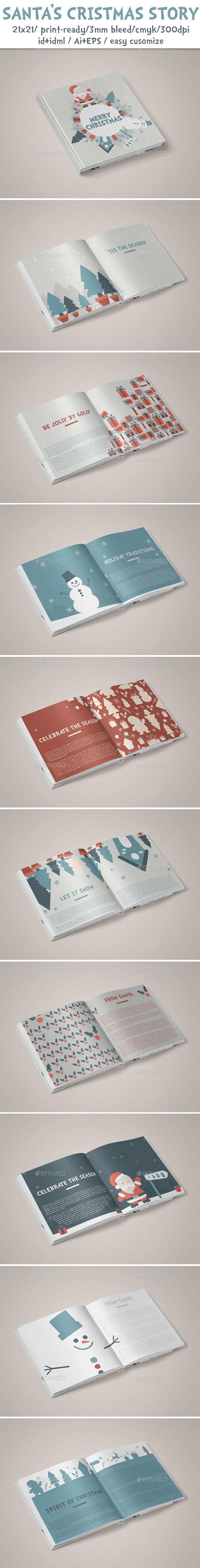 Santa's Christmas Story - Miscellaneous Print Templates