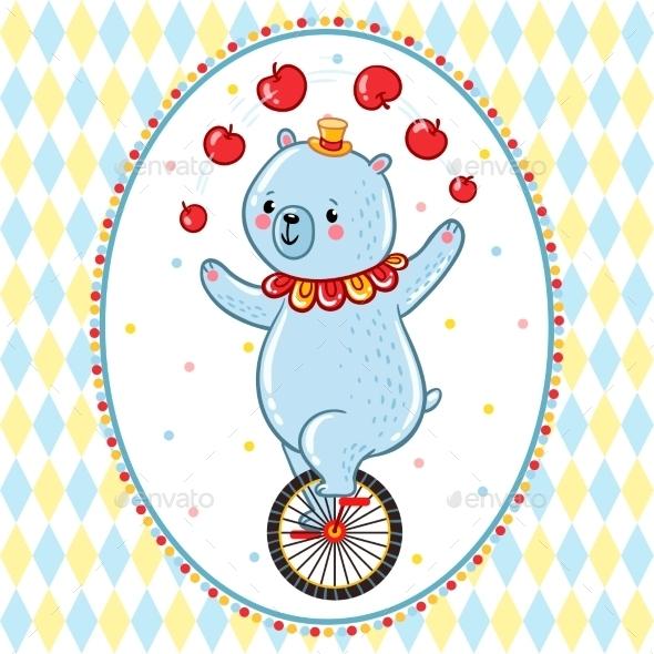 Circus Bear - Animals Characters