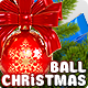 Christmas Ball Toy with Bow Knot - GraphicRiver Item for Sale