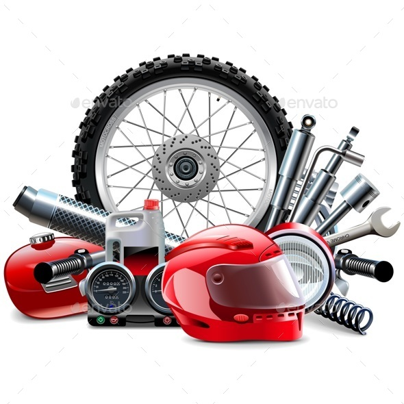 Motorcycle Spares Concept - Sports/Activity Conceptual