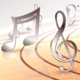 Rotating Musical Notes - VideoHive Item for Sale