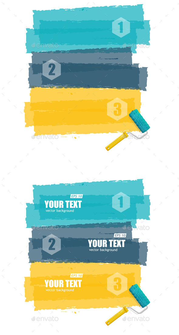 Roller Brush for Text - Concepts Business