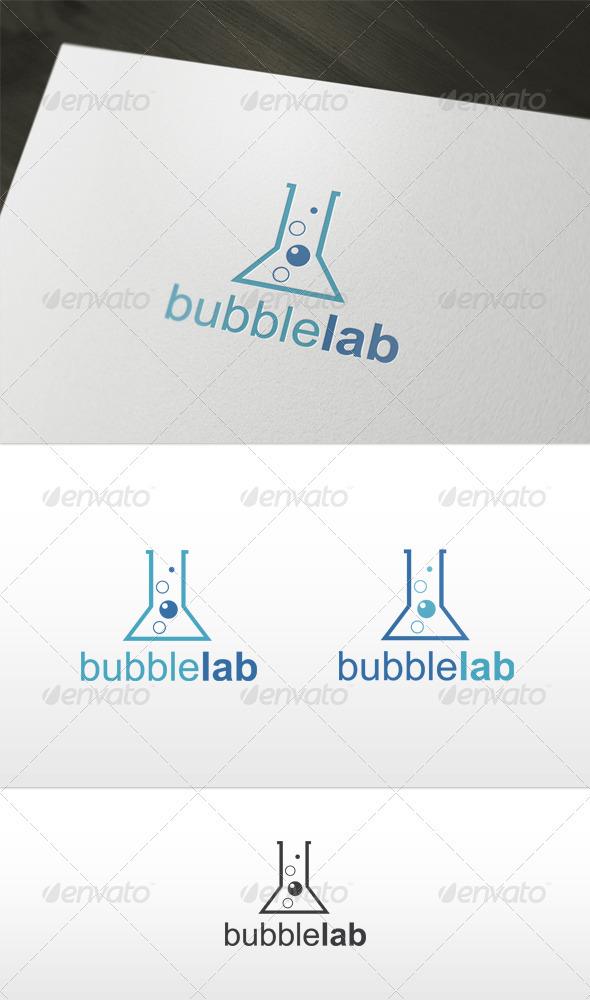 Bubble Lab Logo - Symbols Logo Templates
