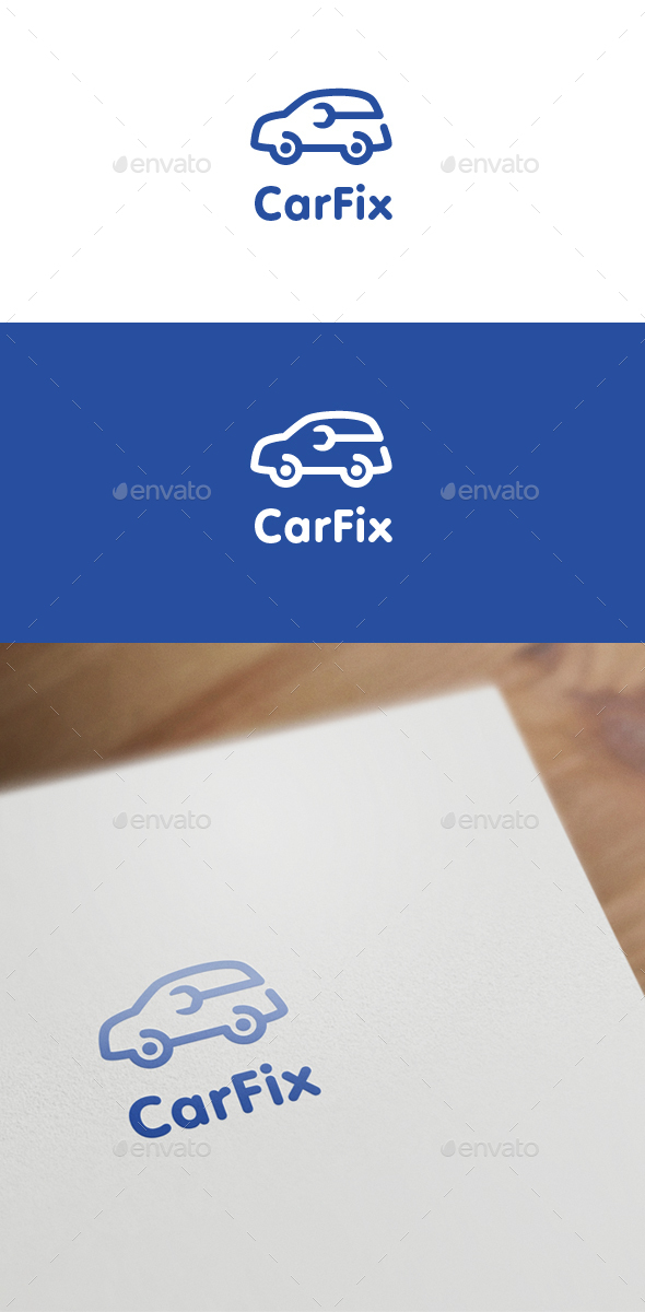 Car Fix - Objects Logo Templates