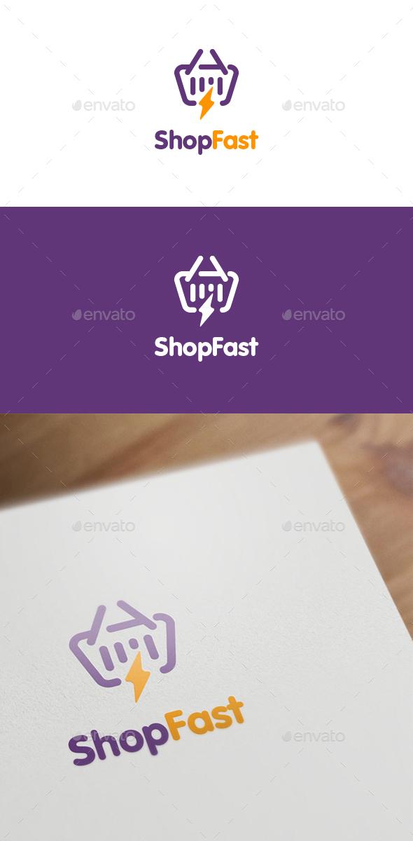 Shop Fast - Symbols Logo Templates