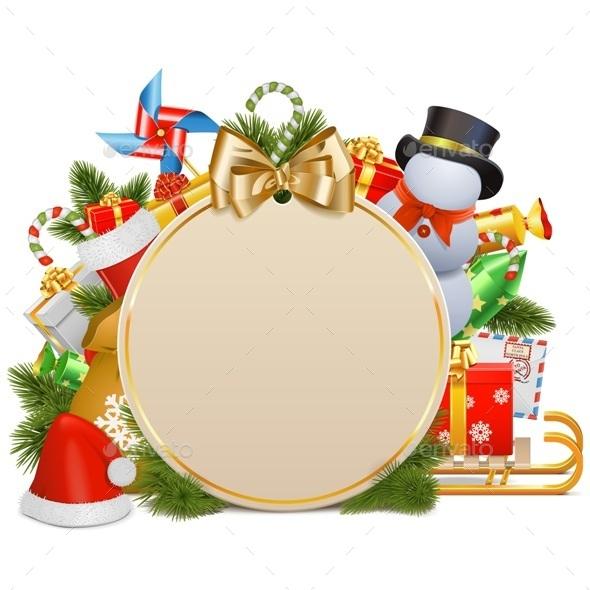 Christmas Concept with Baubles - Christmas Seasons/Holidays
