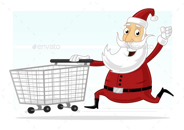 Christmas Shopping - Christmas Seasons/Holidays
