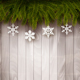 Background with Christmas Tree Branches - GraphicRiver Item for Sale